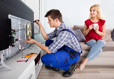 Когда требуется профессиональный ремонт телевизоров?