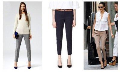 Как подобрать к брюкам женский ремень?
