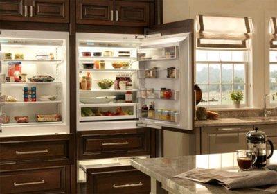 Встраиваемый холодильник: оптимизируем пространство на кухне